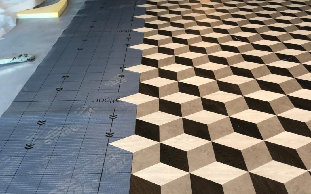 3D Moduleo vloer in Amsterdam